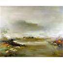 Schilderij Impressionisme John Frel Bay near Antibes