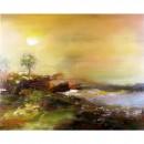 Schilderij Impressionisme John Frel Bay Cote D'Azur