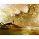 Schilderij John Frel Impressionistisch Afternoon at the Bay