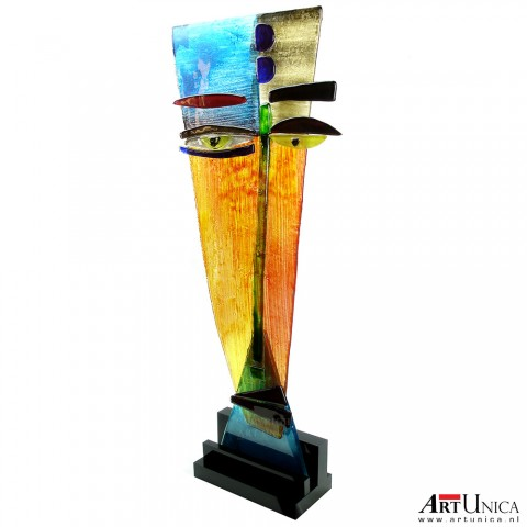 ArtCouple set glassculpturen