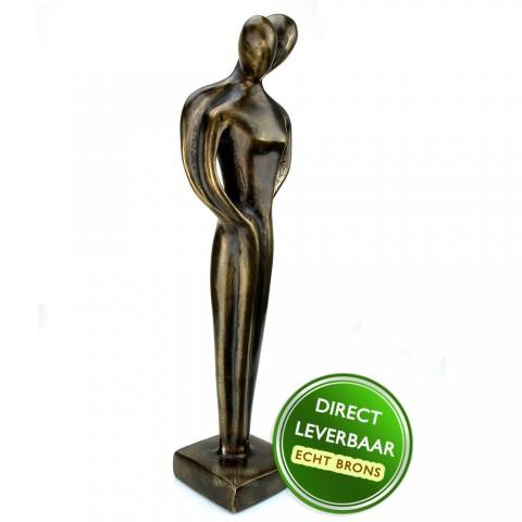 Bronzen beeld Liefde, Genegenheid Art Unica