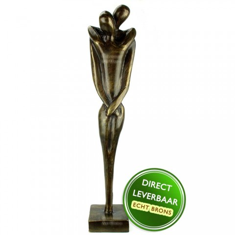 Bronzen beeld Liefde voor Altijd Art Unica