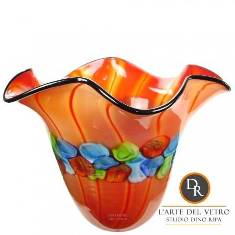 Glazen schaal glaskunst Rimini