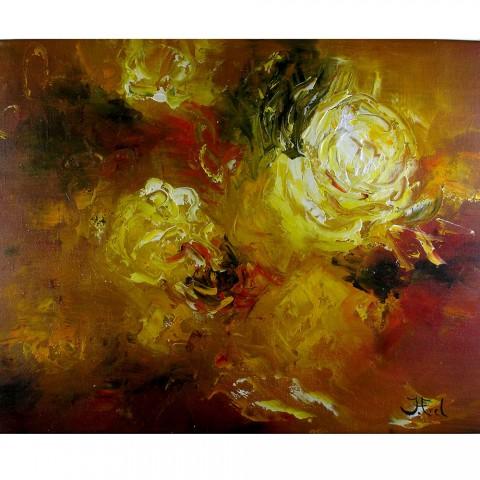 Schilderij Impressionisme John Frel Lightning Roses met sierlijst