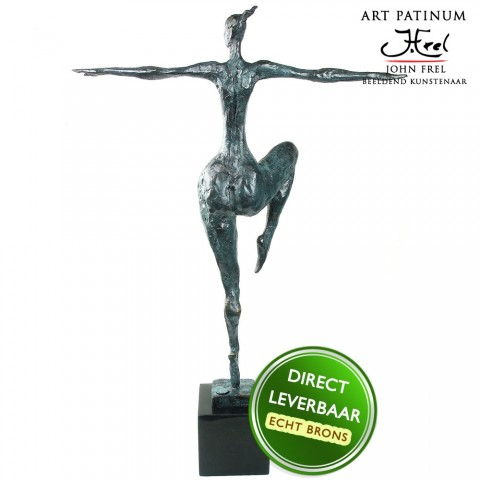 Danseres bronzen beeld La Danseuse
