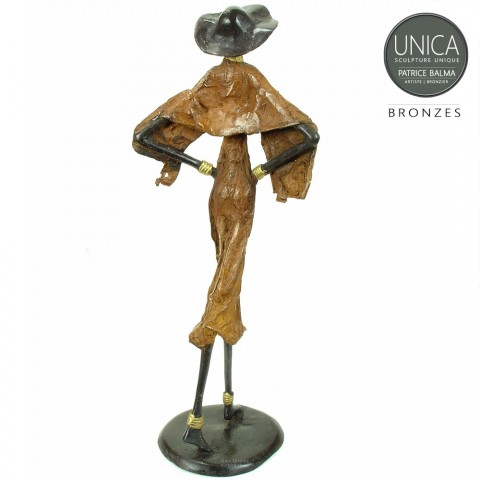 Patrice Balma beeld brons