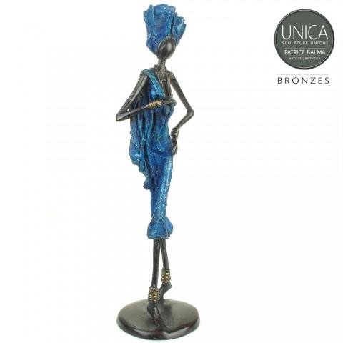 Arielle beeld brons Afrikaans