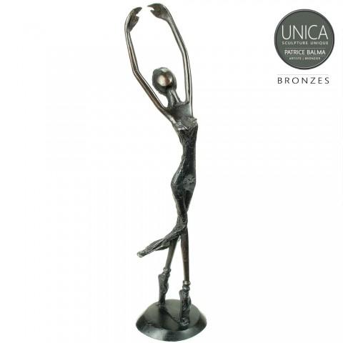 Ballerina Afrikaans brons
