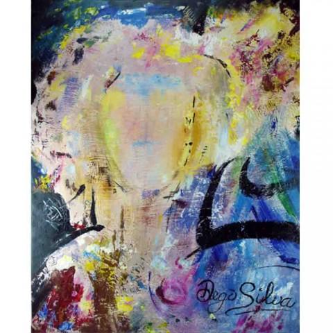 Schilderij Colorful Life