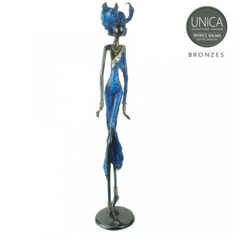 Arlette Bronzen beeld Afrikaans