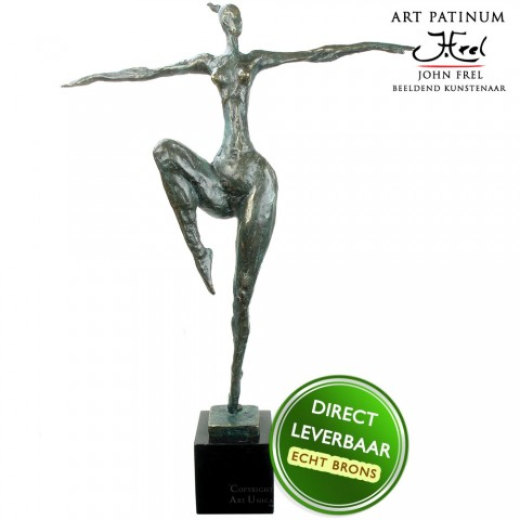 Bronzen beeld Danseres Art Unica