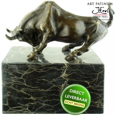 Bronzen beeld Bull Stier 2 Art Unica