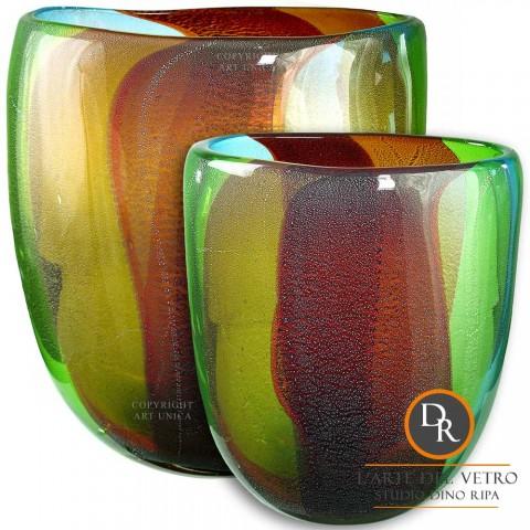 Vazen set Glaskunst model Delicata Dino Ripa