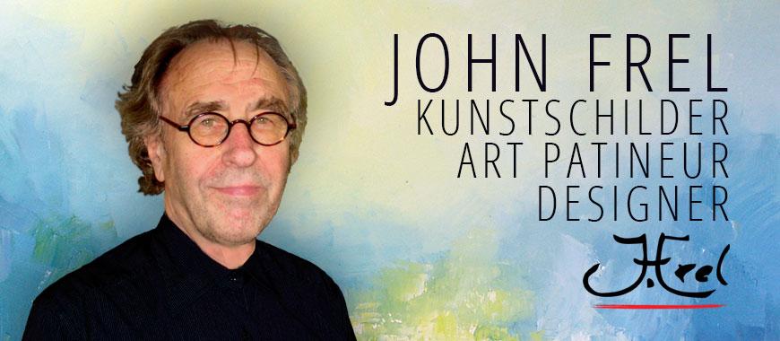 John Frel Kunstschilder biografie