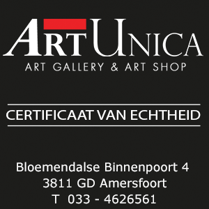 Eduard Martens bronzen beelden Echtheidscertificaat