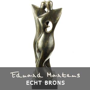 Eduard Martens bronzen beelden van echt brons