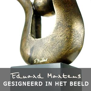 Eduard Martens bronzen beelden gesigneerd in het beeld