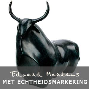 Eduard Martens bronzen beelden met traceerbare echtheidsmarkering