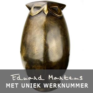 Eduard Martens bronzen beelden met uniek werknummer