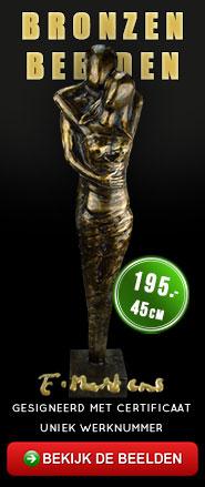Bronzen beelden Eduard Martens
