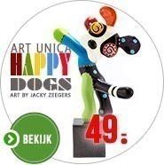 Design Art Happy Dogs beeldjes