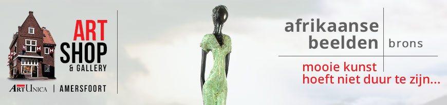 Afrikaanse kunst bronzen beelden