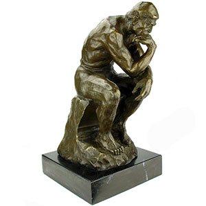 Brons Rodin/John Frel