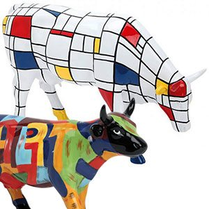 Koeien beeldjes