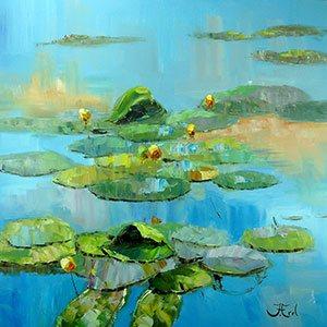 Schilderijen John Frel